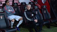 Manajer Manchester United, Jose Mourinho. (AFP/Glyn Kirk)
