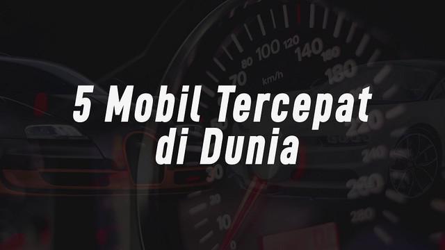 Rata-rata mobil tercepat merupakan Hypercar, harganya pun bisa puluhan miliar rupiah, karena mengusung mesin bertenaga besar yang membuatnya bisa berlari cepat dalam hitungan beberapa detik dan memiliki top speed melebihi 300 km/jam.