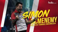 Simon McMenemy, Pelatih Timnas Indonesia. (Bola.com/Dody Iryawan)