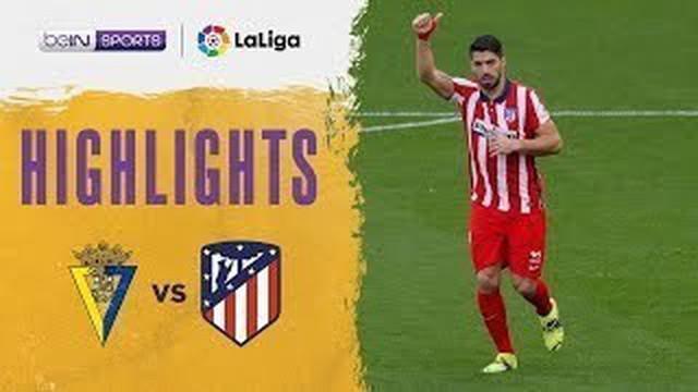 Berita video gol-gol yang tercipta saat Atletico Madrid menang 4-2 atas Cadiz pada pekan ke-21 Liga Spanyol 2020/2021, Minggu (31/1/2021) malam hari WIB. Coba cek juga torehan indah Luis Suarez dalam laga tersebut.