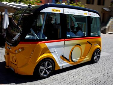 20160623-Keren, Angkutan Umum di Swiss Bisa Meluncur Tanpa Sopir-Swiss