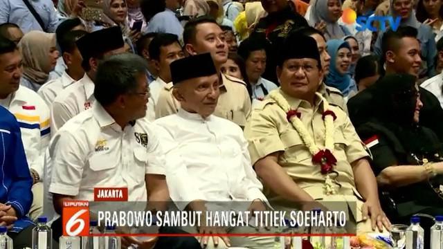 Acara pembekalan relawan dihadiri sejumlah politikus partai pendukung, di antaranya Presiden PKS Shohibul Umam, Ketua Dewan Pertimbangan PAN Amien Rais, dan Ketua Badan Pemenangan Prabowo-Sandi Joko Santoso.