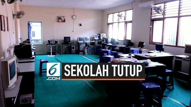 Efek dari zonasi yang diterapkan pemerintah, sebuah sekolah di Buleleng, Bali terancam tutup karena tak mendapat siswa.