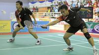 7. Hendra Setiawan dan Markis Kido (Bulutangkis Ganda Putra) - Meraih medali Emas Asian Games 2010 dan mendali perunggu Asian Games 2006. (AFP/Liu Jin)