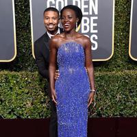 Simak penampilan para bintang di karpet merah Golden Globes 2019 (Foto: Instagram/ @Lupitanyongo)