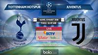 Liga Champions_Tottenham Hotspur Vs Juventus (Bola.com/Adreanus Titus)