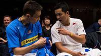 Potret Akrab Lee Chong Wei dan Atlet Bulutangkis Dunia (Sumber: Yonex.com)