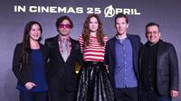 Konferensi pers Avengers: Infinity War di Singapura. (Disney/Marvel Studio)