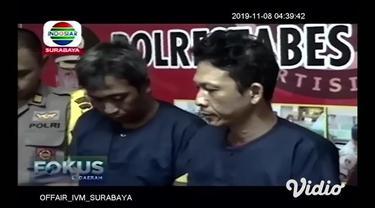 Dua pelaku pembobol rumah yang selama ini meresahkan masyarakat akhirnya ditangkap anggota Reskrim Polsek Wonokromo Surabaya. Keduanya ditangkap saat pesta sabu di sebuah rumah kos.