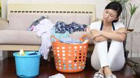 Menghadapi pekerjaan rumah yang setumpuk jangan keburu stress hadapi dengan #PakaiKepalaDingin.