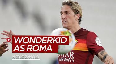 Berita video beberapa fakta untuk mengenal sosok Nicolo Zaniolo, wonderkid AS Roma yang ternyata pernah dibuang Inter Milan.