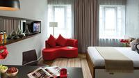 Untuk pasangan muda, memilih apartemen studio dengan dekorasi modern cukup mengasyikkan.