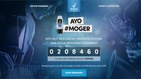 Rexona MotionSense mengajak kamu untuk #MoGer alias Mau Gerak untuk mendapatkan 150 tiket Java Jazz 2016