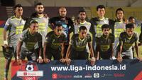 Skuat Borneo FC saat melawan Kalteng Putra di Stadion Sultan Agung, Bantul (3/7/2019). (Bola.com/Vincentius Atmaja)