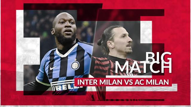 Berita Video Big Match, Inter Milan Vs AC Milan, Romelu Lukaku berpeluang bawa I Nerazurri ke puncak klasemen menyalip Juventus