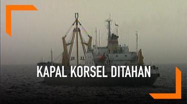 Sebuah kapal berbendera Korea Selatan ditahan di Busan karena diduga memasuk minyak ke Korea Utara. Tindakan ilegal ini dinilai melanggar sanksi PBB kepada Korut.