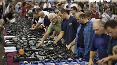 Kebijakan Kontrol Senjata Api Obama Buat Penjualan Meningkat