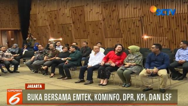 Apresiasi juga diberikan Lembaga Sensor Film Indonesia karena Emtek dinilai disiplin melakukan sensor kepada film untuk melindungi masyarakat dari negatif film.