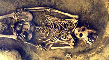 Ditemukan: Fosil Manusia Kembar Tertua di Dunia