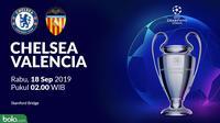 Liga Champions - Chelsea Vs Valencia (Bola.com/Adreanus Titus)