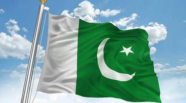 Ilustrasi bendera Pakistan