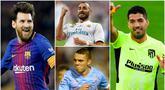 Lionel Messi menempati posisi pertama sebagai pemain aktif yang memiliki jumlah gol terbanyak di Liga Spanyol. Berikut 7 pemain aktif lain yang juga mengoleksi gol terbanyak di La Liga.