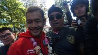 Hanifan Yudani Kusumah, pesilat asal Perguruan Tadjimalela yang meraih medali emas di Asian Games 2018
