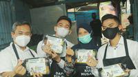 BAZNAS Gelar Dapur Kuliner Nusantara dan Buka Bersama Anak Yatim.