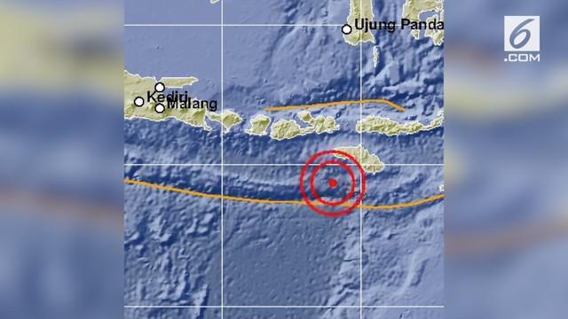Sumba kembali diguncang gempa dengan kekuatan magnitudo 6,7. Gempa tidak menimbulkan potensi tsunami.