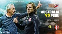 Prediksi Australia vs Peru (Liputan6.com/Trie yas)