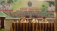 Kementerian Pertanian (Kementan) bersama Dinas Pertanian (Distan) Provinsi Sumatera Utara (Sumut) terus melakukan validasi berkurangnya luas baku lahan sawah.