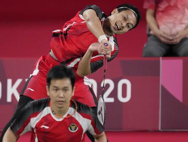 Foto: Ahsan/Hendra Susul Marcus/Kevin ke Perempatfinal Bulu Tangkis Ganda Putra Olimpiade Tokyo 2020 Setelah Kalahkan Pasangan Malaysia