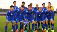 Chinese Taipei harus menunggu selama 44 tahun untuk kembali tampil di Piala AFC U-19 2018. (dok. AFC)