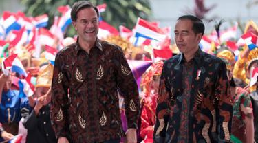 Jokowi dan PM Belanda
