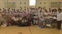 Jemaah haji Indonesia khusus telah selesai dipulangkan ke Tanah Air. (www.haji.kemenag.go.id)