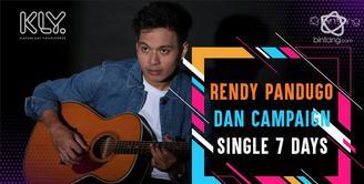 Rendy Pandugo Lakukan Campaign untuk Single 7 Days