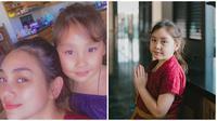 Potret menggemaskan anak Celine Evangelista, Eleeya Xaviera. (Sumber: Instagram/@celine_evangelist)