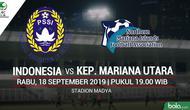 AFC U16 - Indonesia Vs Kepulauan Mariana Utara (Bola.com/Adreanus Titus)