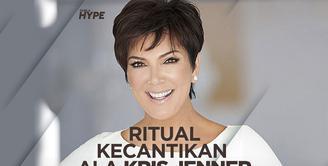 Kris Jenner Bongkar Rahasia Kulit Kencang di Usia 64 Tahun
