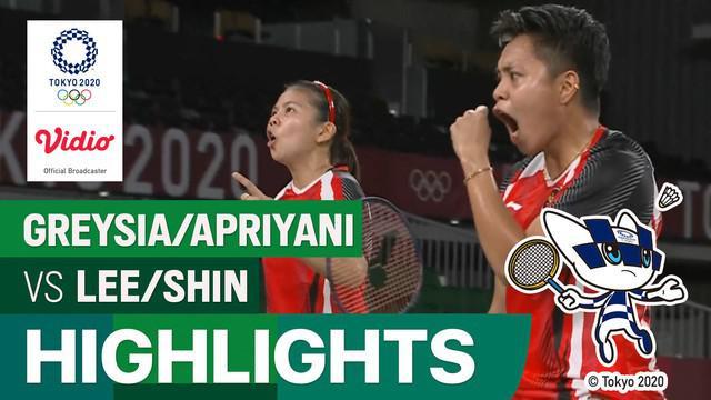 Berita Video, Greysia Polii / Apriyani Rahayu Melaju ke Final Olimpiade 2020 Setelah Kalahkan Wakil Korea Selatan