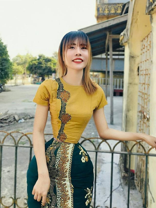 Miliki Ukuran Pinggang yang Tak Biasa, Ini 6 Potret Su Moh Naing Wanita Asal Myanmar