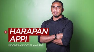 Berita video harapan APPI yang disampaikan Firman Utina dan Ponaryo Astaman soal digelarnya Indonesian Soccer Awards 2019.