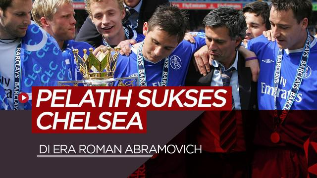 Berita video 10 pelatih sukses Chelsea di era Roman Abramovich.