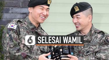 Sejak memulai tugas wajib militer pada Maret 2018 lalu, anggota Big Bang, Taeyang dan Daesung, resmi telah menyelesaikan tugas tersebut, Minggu (10/11/2019) kemarin. Mereka keluar dari Pusat Komando Operasi Pangkalan Militer Yongin, Gyeonggi, Korsel.