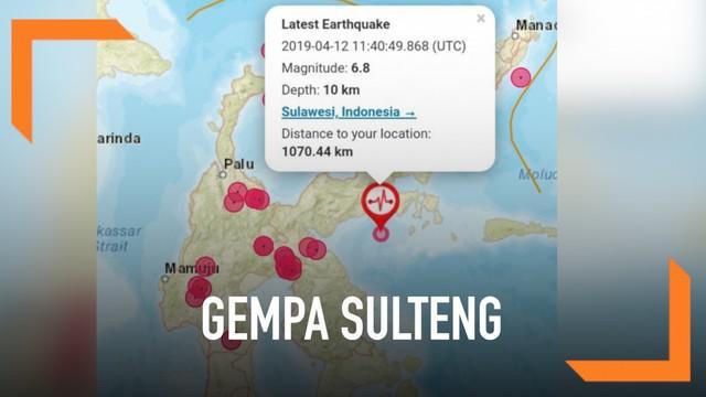 Berita Gempa Sulteng Hari Ini Kabar Terbaru Terkini Liputan6 Com