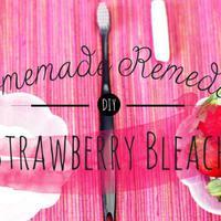 Diy Memutihkan Gigi Secara Alami Dengan Strawberry Lifestyle