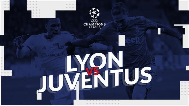 Berita video statistik Olympique Lyon vs Juventus pada leg pertama 16 besar Liga Champions 2019-2020, Kamis (27/2/2020) di Groupama Stadium.