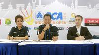 Semangat para pecinta bulutangkis Indonesia yang hadir ke Istora Senayan membuat ajang BCA Indonesia Open menjadi luar biasa