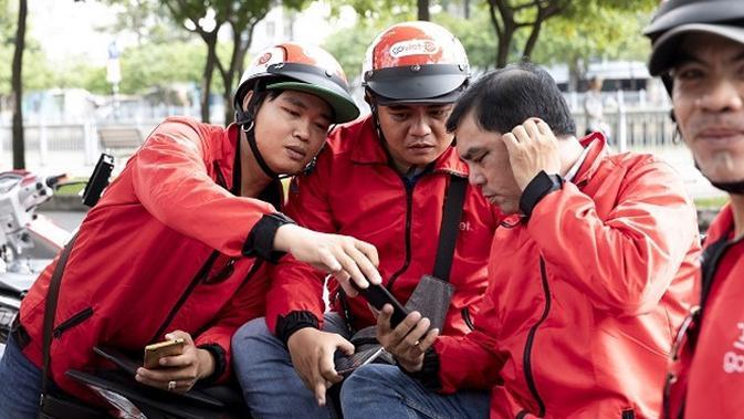 Pengendara ojek online Go-Viet. Dok: Theleader.vn