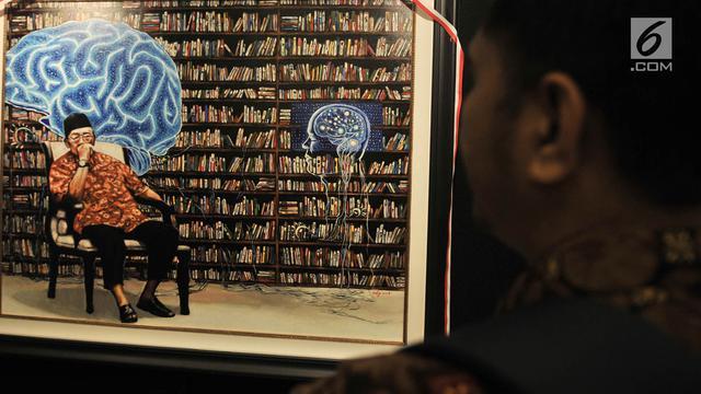 Mengenang Gus Dur dalam Pameran Lukis Sang Maha Guru